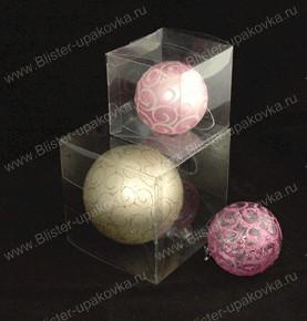 Упаковки для новогодних шаров своими руками